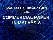 Commercial Paper_Final Presentation_01042012
