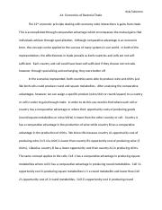 economics- A1 draft