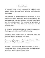 Currency+Swaps