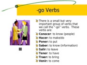 Cap2-Some irregular verbs in the present tense