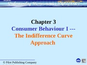 Ch 3 Indifference curve approach