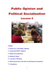 Poli Sci Lesson 5 Public Opinion & Political Socialization.pdf
