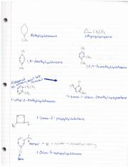 Cycloalkanes with Substituents
