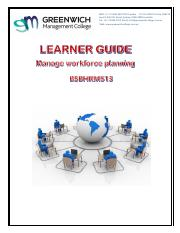 Learner Guide - Manage Workforce Planning.pdf