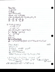 Chain Rule Notes