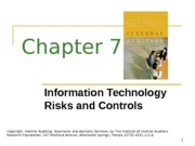 ACCT 632 Chapter 7 PowerPoint Slides