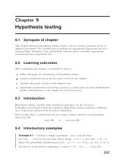 ST102_Chapter_9_Hypothesis_testing