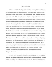 Final Essay - boys vs girls
