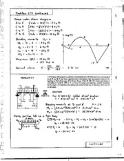 556_Mechanics Homework Mechanics of Materials Solution