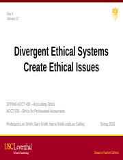Class 5b Divergent Ethical Systems Create Ethical Issues.pptx