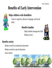 6 EarlyChildhoodIntervention(1).ppt