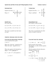 2.3 and 2.4 Handout