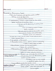 Presidential System Notes