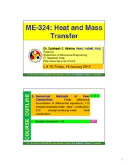 13 l13 -18 january 2013 -me 324 - heat and mass transfer - scmishra- iit guwahati_norestriction