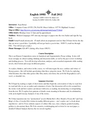 Fall 2012 Bottai_109H Syllabus