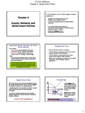 Chapter 06 Supply Demand and Government Policies 3