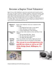 Become a Raptor Trust Volunteer Microsoft Word Exam.docx
