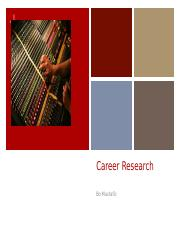 Career Research Project.pptx