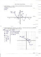 Math 106 Exam 1 Study Guide Solutions 2012