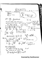 Notes on Rockets