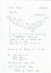 Economies of Scale Notes