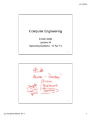 Lecture 34 Operating Systems 11 Apr14 annotated