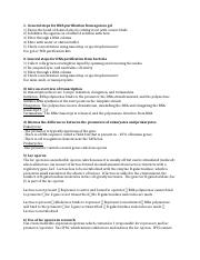 Study guide gene expression bacteria