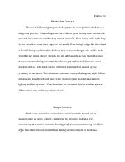 position paper final position paper audience analysis the  1 pages english
