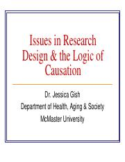 Lecture 6- Issues in Research Design & The Logic of Causation.pdf