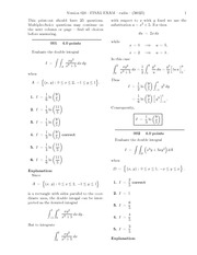 FINAL EXAM-solutions