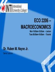Eco2206CourseStructure