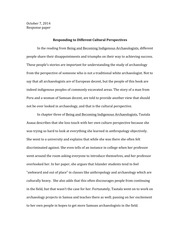 ARCHY 205 Response paper 1