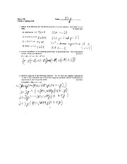 Exam A Solutions on Foundations of Mathematics