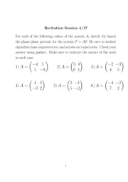 Lecture 23 Supplement