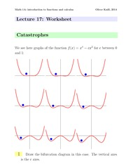 Math1a Spring 2014 Lecture 17 Worksheet