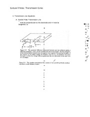 Lecture 9 Notes Transmission Lines