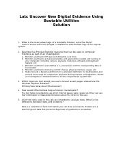 Uncover New Digital Evidence Using Bootable Utilities_Solution.docx
