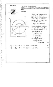 806_Mechanics Homework Mechanics of Materials Solution