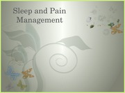 Sleep and Pain - POST (1)