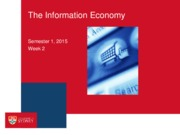 INFS2030 Lecture 2_The Information Economy(1)