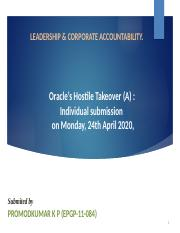 LCA-Oracle- Sumbmission.pptx