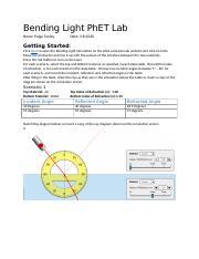Bending_Light_PhET_Lab.docx - Bending Light PhET Lab Go to ...