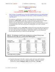 hw_probabilities in epidemiology