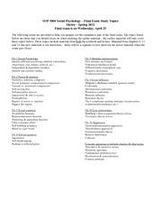 cumulative final exam Biochemistry 2 cumulative final exam covering metabolic processes.