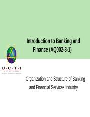 Lecture 3_ Organization and Functioning of Banking and Finacial Services Industry.pptx