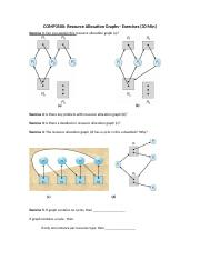 Lec08a-Resource Allocation Graphs-Exercise Handout.docx