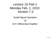 L10Part2&L11Part1 7.3_Small_Signal_BJT_1