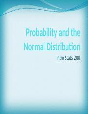 Probability and the Normal Distribution (Ch  6 14 16) (1).pptx
