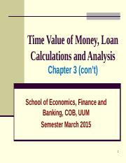 Chapter 3 - (Cont ...Ch-3) Time Value of Money.ppt