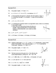 Chapter 5 Homework Answers